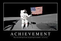 Achievement Motivational Poster von Stocktrek Images