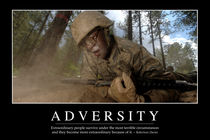 Adversity Motivational Poster von Stocktrek Images
