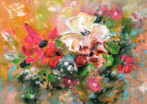 New year Flowers von Miki de Goodaboom