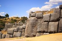 Ruine der Inka-Festung Sacsayhuaman in Peru - UNESCO World Heritage by mellieha