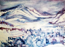 Brge im Winter by Irina Usova