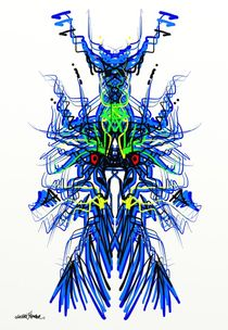 Blue Dragon Design von Vincent J. Newman