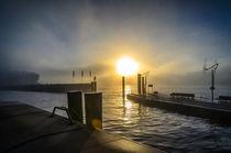 Sonnenaufgang im Nebel von Dennis Südkamp