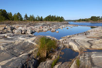 Ladoga lake, skerries. von Maksim Drozdov