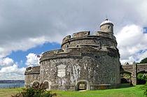 St Mawes Castle, East Side Bastion von Rod Johnson