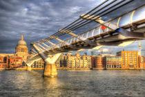 The Millennium Bridge London  von David Pyatt