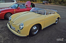 Porsche 356 Speedster by shark24