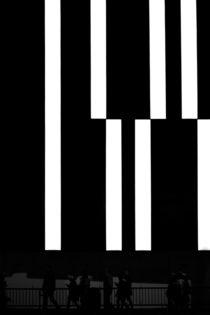 Neon Weiß  von Bastian  Kienitz