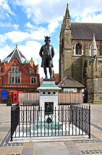James Boswell Statue, Lichfield  by Rod Johnson