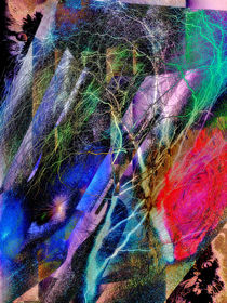 Abstract Art - 17 by Glory Denisov