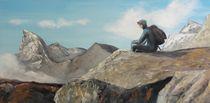 Blick aufs Matterhorn by Barbara Kaiser