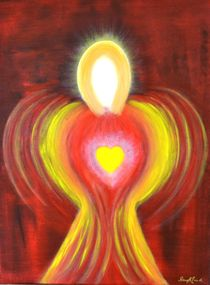 Engel der Kraft by Renate Münch