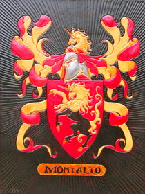 Montalto coat of arms by Ron Moses
