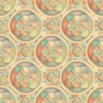 Complex geometric pattern von Gaspar Avila