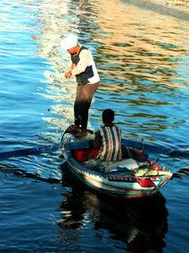 Nile fishermen by Bill Covington