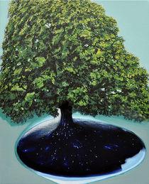 Umkehren, 50 x 60 cm, oil on canvas. by Julian Lee