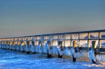 Eisbrücke 06 von Roland Scheibner
