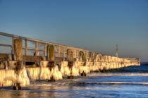 Eisbrücke 07 von Roland Scheibner