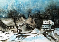 Im Schneetreiben von Irina Usova