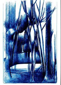 Swamp Forest - ORIGINAL SOLD von Wolfgang Schmidt