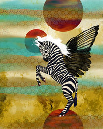 Space Zebra by Sherri Leeder