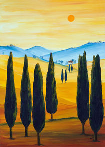 Sehnsucht nach der Toskana von Christine Huwer