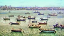 Boat Armada by GabeZ Art