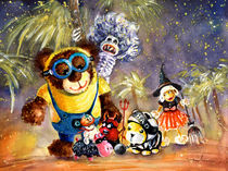 Truffle McFurry Halloween Party by Miki de Goodaboom
