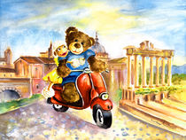 Holiday In Rome von Miki de Goodaboom