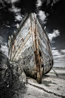 Wrecked boat by Alessandro De Pol
