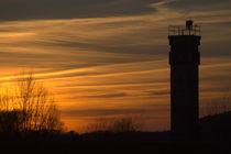 Grenzturm im Sonnenuntergang von Jörg Boeck