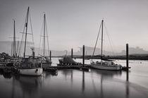 Topsham boats at dusk von Pete Hemington
