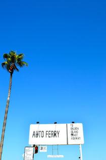 Ferry to Balboa Island / California von Peer Eschenbach