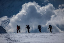 Ski-touring in the Swiss Alpes by Frank Tschöpe
