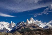 Panorama of Cerro Fitzroy von Frank Tschöpe