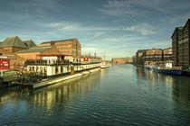 Oliver Cromwell at Gloucester Docks  von Rob Hawkins