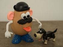 Mr Potato Head and his doggy  by Rob Hawkins