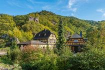 Forellenhof mit Laukenburg im Wispertal 4 von Erhard Hess