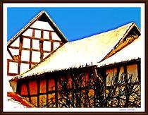 ~Villages Idyllic Winter~  von Sandra  Vollmann