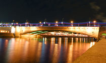 Festive lights of evening Moscow von Yuri Hope