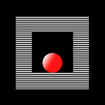 black red white 3 von Ladislav Dunaj