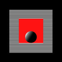 black red white 2 von Ladislav Dunaj