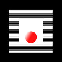 black red white 1 von Ladislav Dunaj