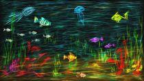 Unterwasser-Fantasie by Heike  Langenkamp
