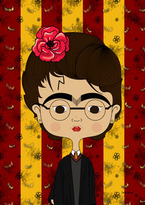 Frida Harry Potter von Camila Oliveira