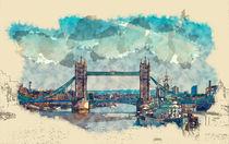Tower Bridge London by Tanya  Hall