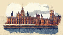 Palace of Westminster by Tanya  Hall