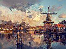 De Adriaan Netherlands Holland by Tanya  Hall
