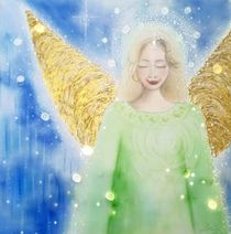 Engelchen zur Geburt by Elke  Lessing