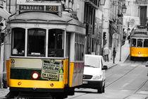 Tram 28 de Lisboa von mariellemeerfrau